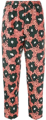 Christian Wijnants Daisy Print Cropped Trousers