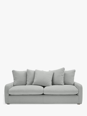 loaf Floppy Jo Large 3 Seater Sofa by at John Lewis, Clever Softie Pewter