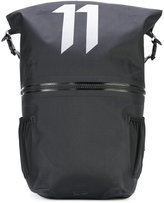 11 By Boris Bidjan Saberi large logo print backpack - unisex - Nylon - One Size