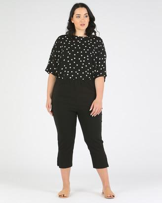Advocado Plus Side Split Pants