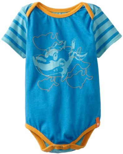 Crocs Unisex-Baby Infant Short Sleeve Bodysuit