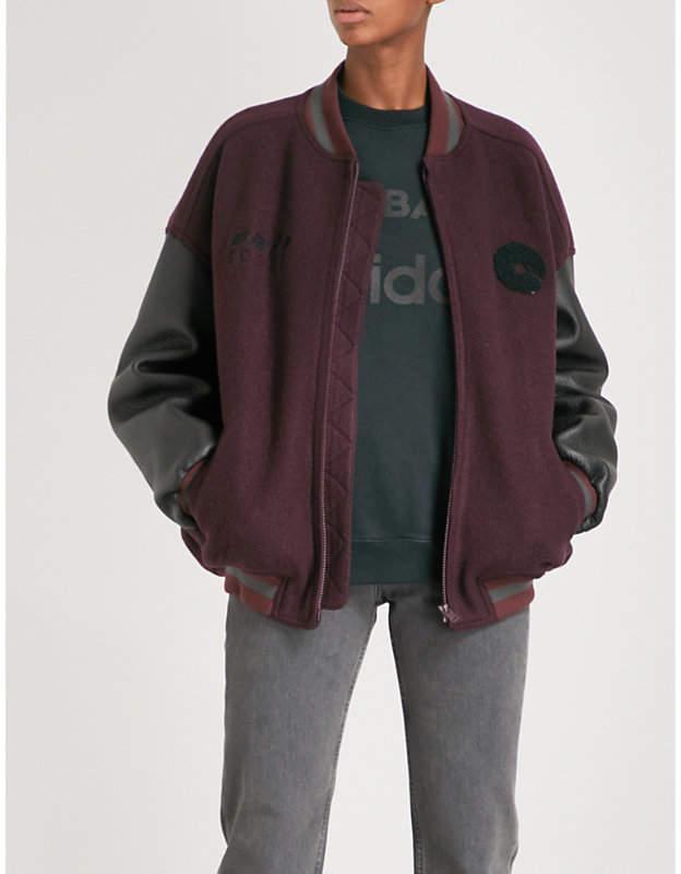 Yeezy Season 5 Cali boiled-wool bomber jacket