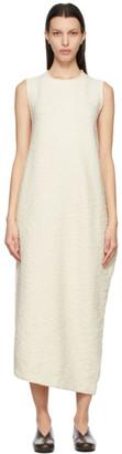 LAUREN MANOOGIAN Off-White Bend Dress