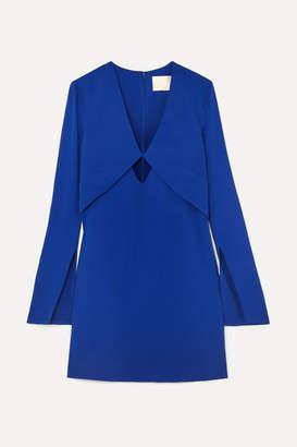Dion Lee Tessellate Cutout Cady Mini Dress - Blue