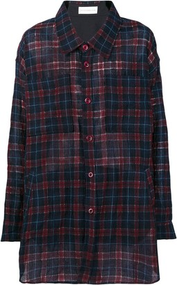 Faith Connexion Oversized Checked Shirt