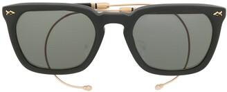 Matsuda Square Shaped Sunglasses