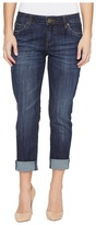 KUT from the Kloth Petite Catherine Boyfriend in Enticement Wash Women's Jeans