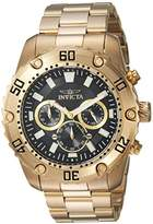 Invicta Men's 'Pro Diver' Quartz Stainless Steel Casual Watch