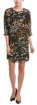 Trina Turk Naideen Silk-blend Shift Dress.