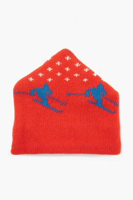 Gents Harding Lane Red Wool Apres Ski Hat