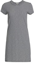 Rag & Bone Stripe T-Shirt Dress
