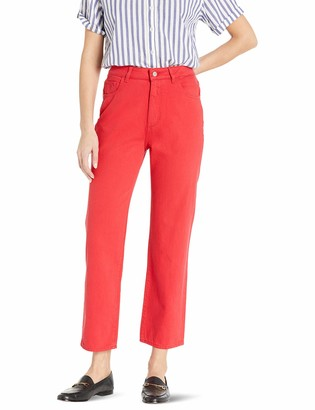 DL1961 Women's Jerry: HIGH Rise Vintage Straight