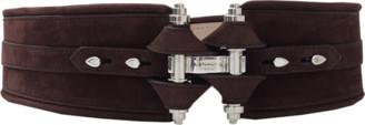 Givenchy Chocolate Obsedia Waist Belt