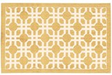 Waverly Art House Groovy Grille Gold Area Rug by Nourison (2'3 x 3'9)
