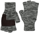 Levi's Men's Marled Two Toned Heathered Fingerless Glove