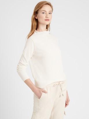 Banana Republic Petite Italian Wool-Blend Sweater Tunic
