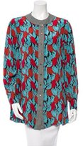 Sophie Theallet Printed Silk Blouse w/ Tags