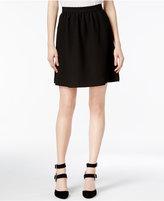 Kensie Textured A-Line Skirt