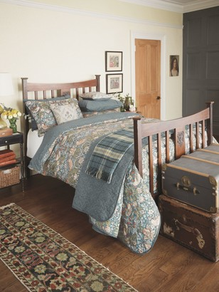 Morris & Co. Strawberry Thief Cotton Bedding, Slate