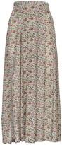 Thumbnail for your product : Rixo Georgia Printed Silk Blend Midi Skirt