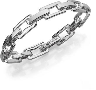 Nambe Sterling Silver Signature Link Bracelet