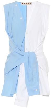 Marni Sleeveless cotton shirt
