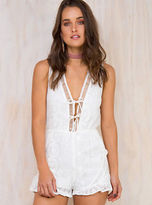 MinkPink New Women's Heritage Playsuit
