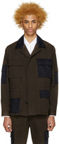 Marc Jacobs Green & Navy Army Jacket