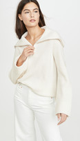 TSE Cashmere Zip Front Sweater
