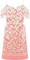 Oasis Flamingo Bardot Cami Dress