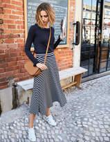 Boden Jersey Midi Skirt