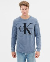 Calvin Klein Jeans Iconic Sport LS Knit Top