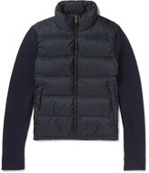 Prada Wool And Quilted Nylon Down Jacket