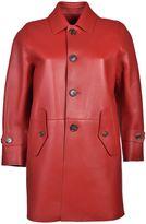 DSQUARED2 Oversized Leather Jacket