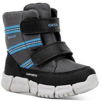 Geox Boys' C Flexyper Striped Waterproof VELCRO® Boots - Walker