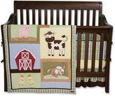 Trend Lab Baby Barnyard 4-pc. Crib Bedding Set