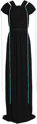 Vionnet Draped Gathered Jersey Gown