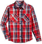 Tommy Hilfiger Jazz Flannel Shirt, Big Boys (8-20)