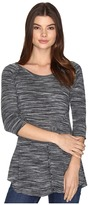 Roper 0536 Space Dyed Sweater Jersey Pieced Top