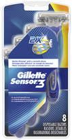 Gillette Sensor 3 Disposable Razors, Smooth Shave