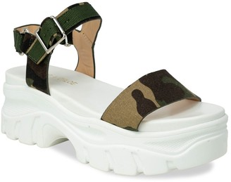 Chase & Chloe Dolly Sporty Platform Sandal