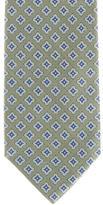 Burberry Tile Print Jacquard Tie