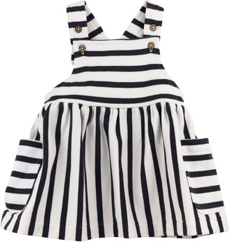 Oliver & Rain Stripe Organic Cotton Dress