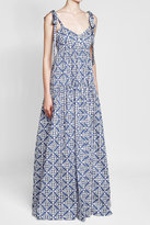Caroline Constas Printed Maxi Dress