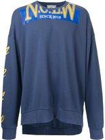 Miharayasuhiro printed sweatshirt - men - Cotton - 44