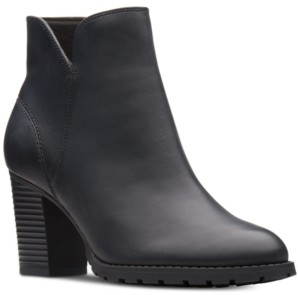 Clarks Collection Women's Verona Trish Booties Women's Shoes