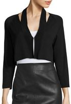 Saks Fifth Avenue COLLECTION Modern Shrug with Cutouts