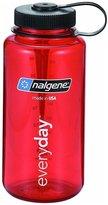 Nalgene BPA Free Tritan Wide Mouth Water Bottle, 32oz - Red