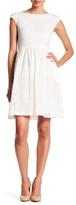 Donna Morgan Cap Sleeve Fit & Flare Dress