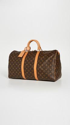 Shopbop Archive Louis Vuitton Keepall 50 Monogram Bag